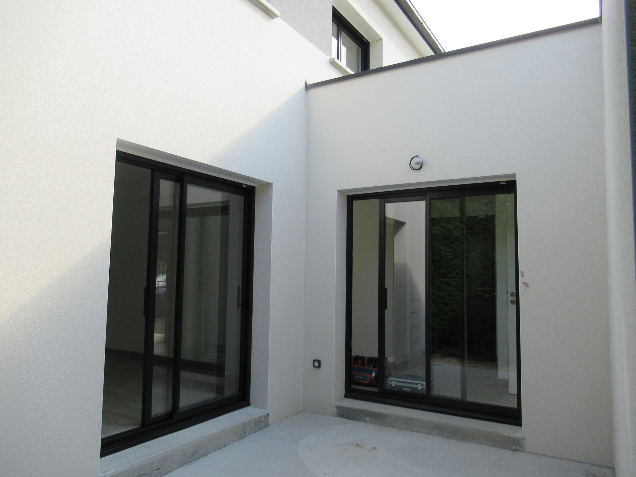 Maison Contemporaine Avec Patio Interieur Geb Chateaubourg
