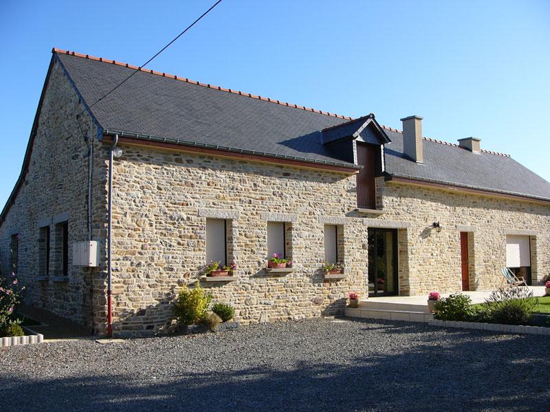 Rénovation d'une longère en pierres à Saint Didier | GEB ... - Renovation Longere