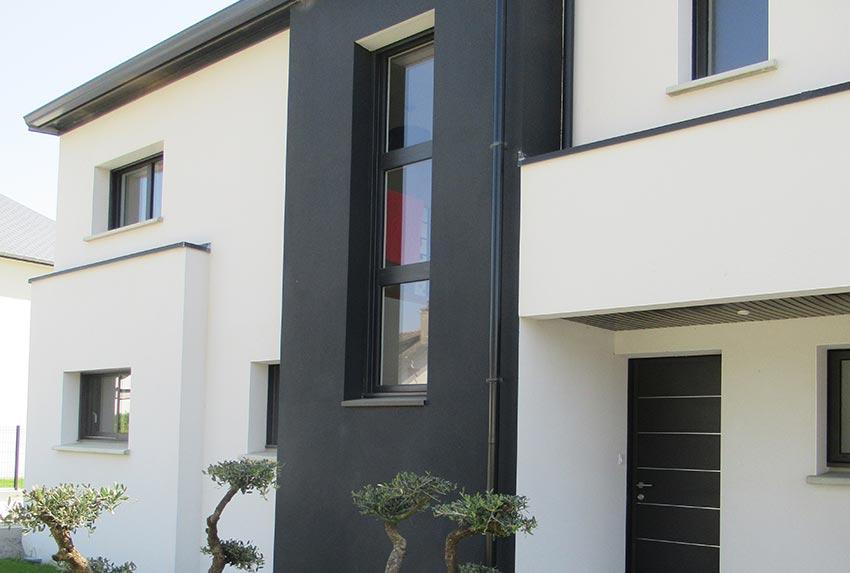 Maison à l\'architecture moderne - Liffré | GEB Châteaubourg