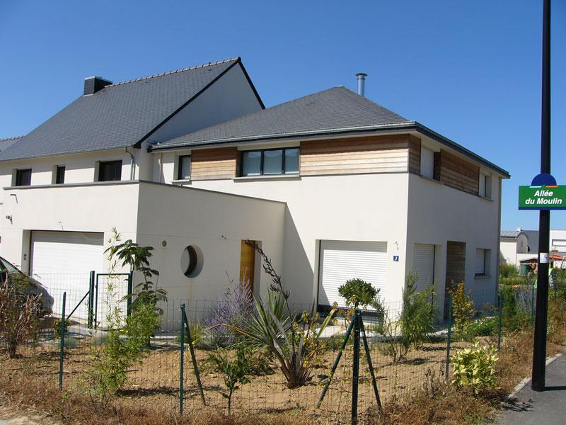 maison toiture 4 pans pac geb ch teaubourg. Black Bedroom Furniture Sets. Home Design Ideas