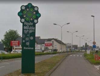 Agence de rennes montgermont geb ch teaubourg - La route du meuble rennes ...
