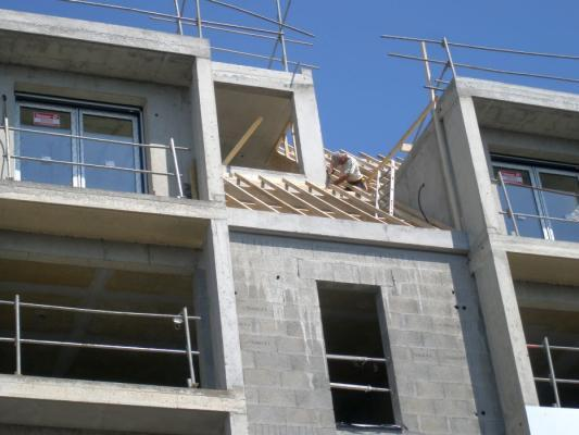 Charpente construction maison rennes